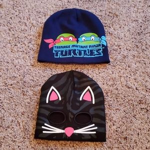 ❤BOGO❤ Cat TMNT beanie stocking hats